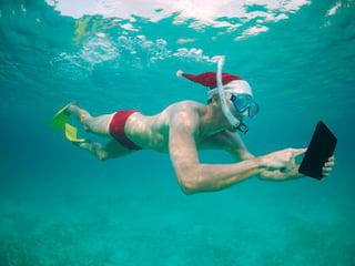 Santa under water with tablet.jpg
